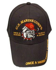 de5f4f61d821a Once a Marine BLK. Jovita s Place · Military Caps   Hats