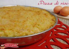 pizza di riso al prosciutto cotto ricetta primo gustoso riso al forno