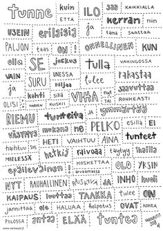 Tunnesattumaruno Finnish Language, Behavior Management, Occupational Therapy, Special Needs, Mathematics, Finland, Fun Facts, Psychology, Kindergarten
