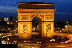 France, Paris, Arc de  photo