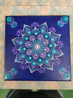 Mandala Design, Mandala Art, Big Canvas, Canvas Art, Dot Art Painting, Henna Designs, Hand Lettering, Design Art, Dots