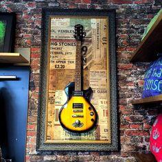 Rockdecor by rvalentim - Quadros com guitarras customizadas