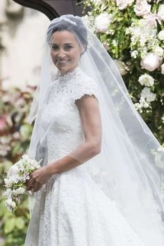 Browse Wedding Of Pippa Middleton And James Matthews latest photos. View images and find out more about Wedding Of Pippa Middleton And James Matthews at Getty Images. Princesa Charlotte, Pippas Wedding, Wedding Of The Year, Wedding Flowers, Wedding Ceremony, Wedding Beauty, Wedding Makeup, Pippa Middleton Wedding Dress, Celebrity Wedding Gowns