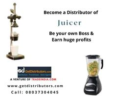 Wanted #distributors to market #Juicer of established brands in the #Industry If interested, share your contact details in the comment box Fruit And Vegetable Juicer, Hand Juicer, Juice Maker, Become A Distributor, Electric Juicer, Sales Agent, Juicer Machine, Juice Extractor, Consumer Electronics