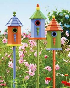 Google Image Result for http://kitchendinner.com/img/Gardener/pear-green-rainbow-birdhouse-factor.jpg