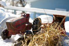 As a kid... harvest season with...  par Cody La Bière