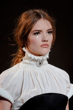 Ulyana Sergeenko Fall 2013