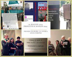 """Progetto 8 agosto Laboratorio Didattico """"Generazioni a Confronto"""" - Premiazione al Concorso ANCR e ANPI """"Filmare la Storia"""""""