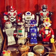 artberrydotnet Robots and Clown