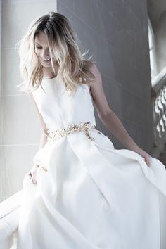 The Duchess - Margaux Tardits - - Wedding Gowns Boho Chic Wedding Dress, Stunning Wedding Dresses, Wedding Gowns, Bridal Looks, Bridal Style, Weeding Dress, Yes To The Dress, Bridal Dresses, Marie