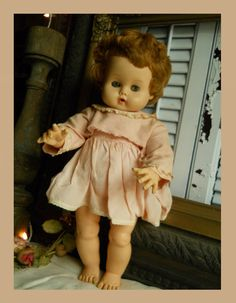 196061 Marked Ginny Baby Vogue Doll Inc by VintagePackratQueen, $23.99