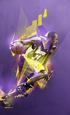 Kobe Bryant ~ Nike Kids by Mike Harrison, via Behance