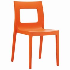 Lucca Dining Chair Orange (Set of 2)
