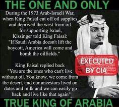 True king of Arabia..