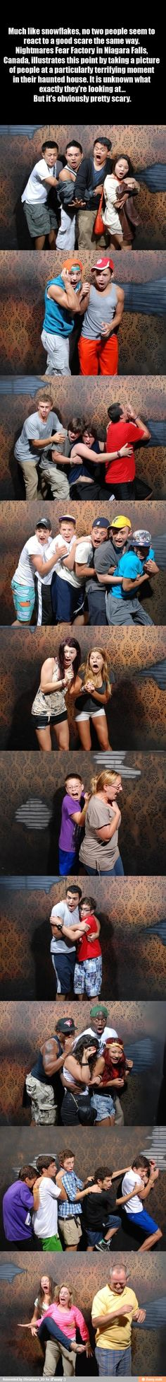 Omg! So funny!! This place is truly scary and I'm so glad there is not a picture of me when I went through!! #nightmares