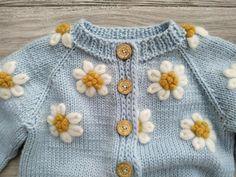 Hand Knitted Sweaters, Wool Cardigan, Pulls, Baby Knitting, Merino Wool, Knit Crochet, Knitwear, Knitting Patterns, Baby Kids