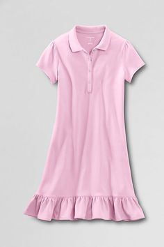 Why do they not make this in women's sizes? Short Sleeve Knit Ruffle Bottom Dress from Lands' End
