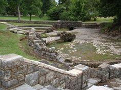 """Sylvan Springs Park, St. Louis County. Had my girl scout """"bridging"""" ceremonies here."""