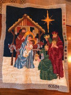 Needlepoint Nativity Scene    eBay