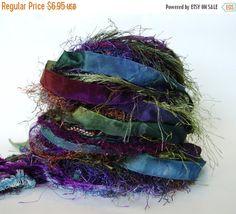 SALE THE GOBLIN Master 26 yd Adornment Fiber Art Bundle, Specialty Yarn Embellishment
