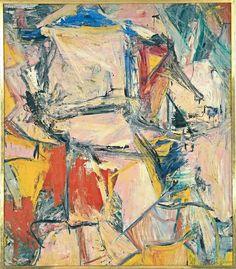 """Interchanged"" 1955 Willem de Kooning."