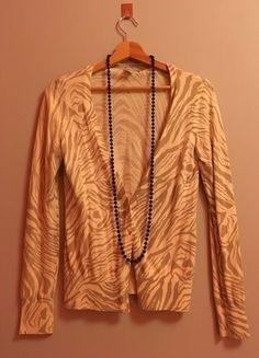 Kup mój przedmiot na #vintedpl http://www.vinted.pl/damska-odziez/kardigany/15859777-kardigan-w-zebre-hm