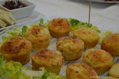 Muffins de queso de cabra - La Alacena de MO