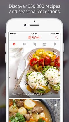 BigOven 350,000+ Recipes and Grocery List #Food #BestApps #Apps #iPhone #Recipes