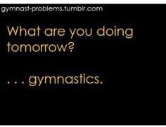 Gymnast problems!