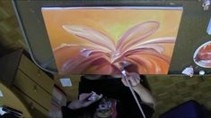 DEMO - Waiting for the Summer. Anastasia, Etsy Store, Behind The Scenes, Waiting, Fine Art, Orange, Flowers, Summer, Fun