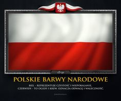 Great meaning of colours. Poland Culture, Poland Country, Divorce Online, Poland History, Polish Folk Art, Divorce Papers, How To Pronounce, Birth Certificate, I Wish I Knew