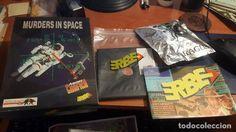 Murders in space, aventura grafica, infogrames, caja grande
