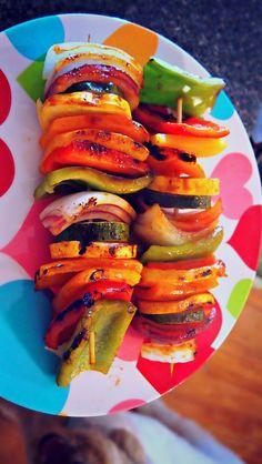 BBQ Veggie Kabobs