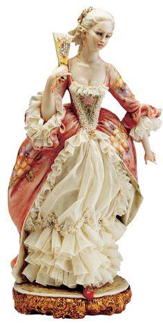 W Fine Porcelain China Diane Japan Porcelain Jewelry, Fine Porcelain, Porcelain Ceramics, Painted Porcelain, Decoration Baroque, Dresden Dolls, Dresden Porcelain, My Fair Lady, Half Dolls