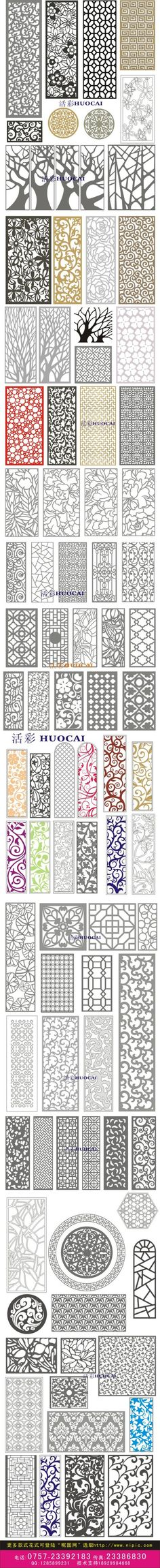 Various Templates- Patterns to use for Paper Cutting, Stencil, Murals, Card making. Diy And Crafts, Arts And Crafts, Paper Crafts, Cnc, Stencils, Stencil Patterns, Paper Cutting Patterns, Fun Patterns, Stencil Designs