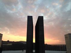Il Memoriale per la Shoah di Bologna, nella nuova piazza realizzata sul ponte di via Matteotti. http://goo.gl/JoqyIK