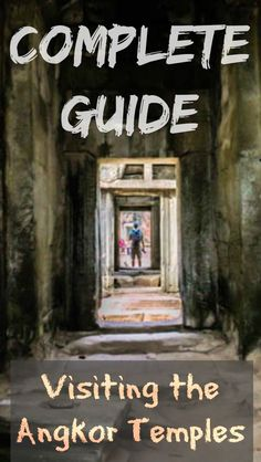 Complete Guide to Visiting the Angkor Temples. This guide will present your with travel facts that will help you plan your visit, not the history of the temples.  I can't even begin to get into that here as the history is long and diverse, my advice to you is buy a good book on the temples and start reading it before you get here. http://www.divergenttravelers.com/complete-guide-to-visiting-the-angkor-temples-cambodia/