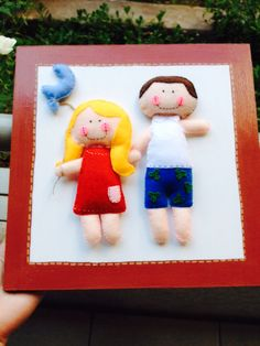 Cuadro personalizado para una linda pareja de enamorados  #hechoamano