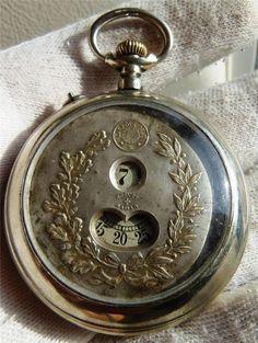 Careful Scarce Antique Gorham Sterling Silver Pocket Watch Holder Display Griffin Bird Other Antique Sterling Silver