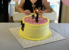 Emma Wiggle Birthday cake Girls 2nd Birthday Cake, Wiggles Birthday, Wiggles Party, Navy Birthday, Third Birthday, 3rd Birthday Parties, Emma Wiggle, Wiggles Cake, Girl Cakes