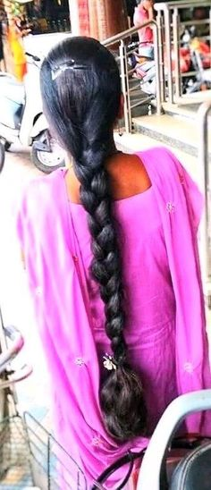 Bun Hairstyles For Long Hair, Indian Hairstyles, Braided Hairstyles, Beautiful Braids, Beautiful Long Hair, Indian Braids, Indian Long Hair Braid, Braids For Long Hair, Hair Photo