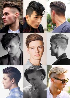 Mens Hairstyles + Cool Haircuts For Men Undercut Hairstyles, Hairstyles Haircuts, Cool Haircuts, Haircuts For Men, Short Hair Cuts, Short Hair Styles, Estilo Cool, Undercut Men, Fade Haircut