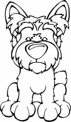 irish terrier coloring pages - photo#49
