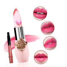 Creazy®Waterproof Long Lasting Moisturize Lipstick Lip Gloss (Red) >>> Find out more about the great product at the image link.
