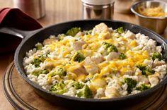 Sencillo pollo con broccoli