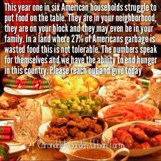 Help America grow strong , feed our people !