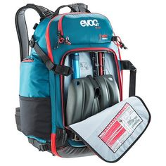 Evoc CP26L multipurpose camera backpack for action sports including ABS avalanche technology