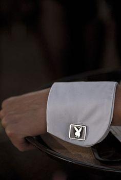 Cuffs and Playboy Cuff Links.