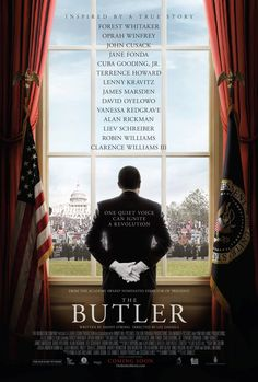 Lee Daniels' The Butler on DVD January 2014 starring Oprah Winfrey, David Oyelowo, John Cusack, Forest Whitaker. The Butler is inspired by Wil Haygood's Washington Post article about an African-American man who served as a butler (Forest Whitaker) to Clarence Williams Iii, Robin Williams, Williams James, Jesse Williams, Beau Film, The Butler Movie, Cuba Gooding, Movies To Watch, Great Movies