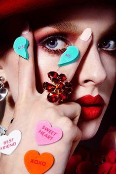 Vogue Ukraine Love Valentine Beauty Editorial with model Paulina Klimek | NEW YORK FASHION BEAUTY PHOTOGRAPHER- EDITORIAL COMMERCIAL ADVERTISING PHOTOGRAPHY